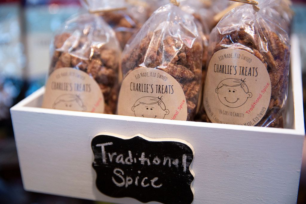 Charlie's Treats products are available at the Go Texan Pavilion at State Fair of Texas.