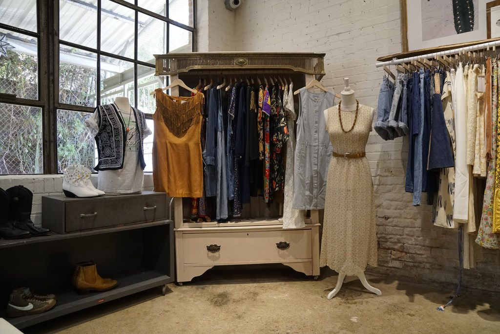 Flea Style in Dallas, Texas on Thursday, June 14, 2018. The hip new store in Deep Ellum carries handmade, vintage, and one of a kind products from small Texas businesses.  (Lawrence Jenkins/Special Contributor)
