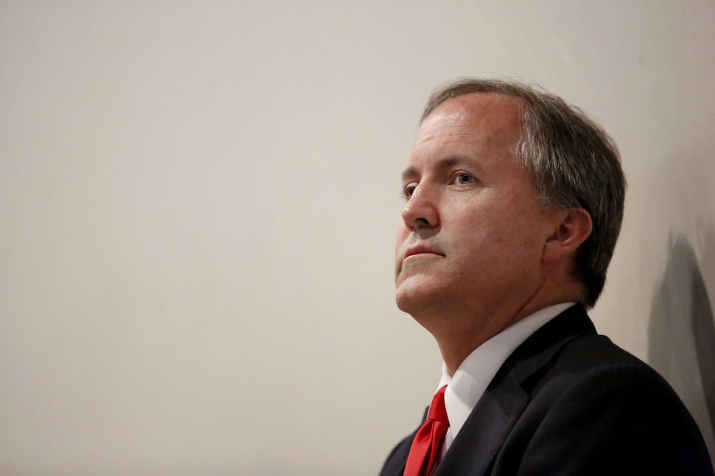 Texas Attorney General Ken Paxton faces three felony charges of fraud for allegedly duping investors into buying stock in a technology company without disclosing he was being paid by the firm. He will head to trial on May 1. (2015 File Photo/Staff)