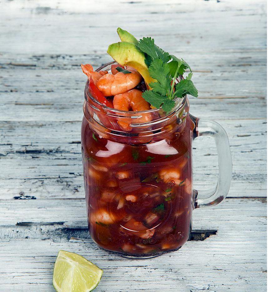 Un coctel de camarón es ideal para ponerle sabor a estas fechas(AGENCIA REFORMA)