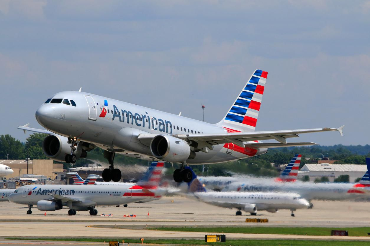 Una nave Airbus 319 de American Airlines.(GETTY IMAGES)