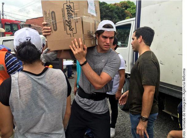 El actor Danilo Carrera ha aprovechado sus redes sociales para solicitar todo tipo de ayuda para la gente que sufrió por el terremoto en Ecuador. /AGENCIA REFORMA