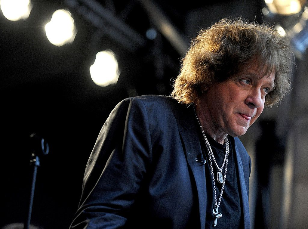 Eddie Money performs during FOX & Friends' All American Concert Series outside of FOX Studios in New York City on June 7, 2013. Money has died at age 70 after a battle with cancer. (Dennis Van Tine/Abaca Press/TNS)