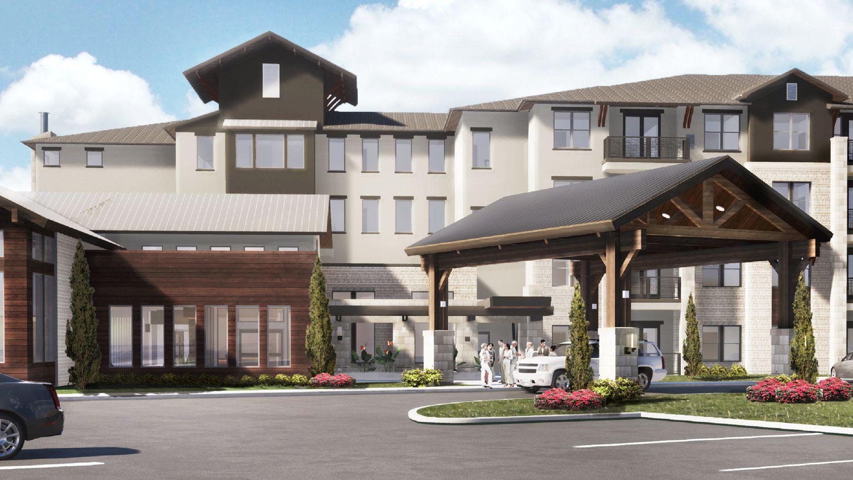 The Hidden Springs community will open in 2019.