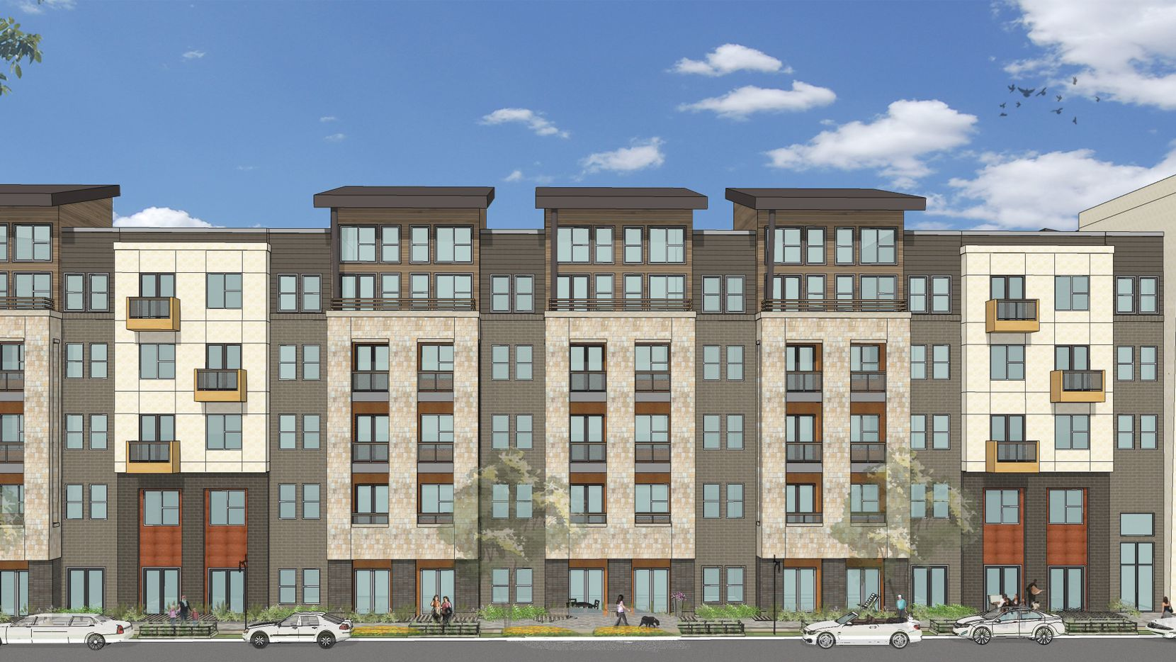 JPI's Routh Creek apartments in Richardson will have 420 units.
