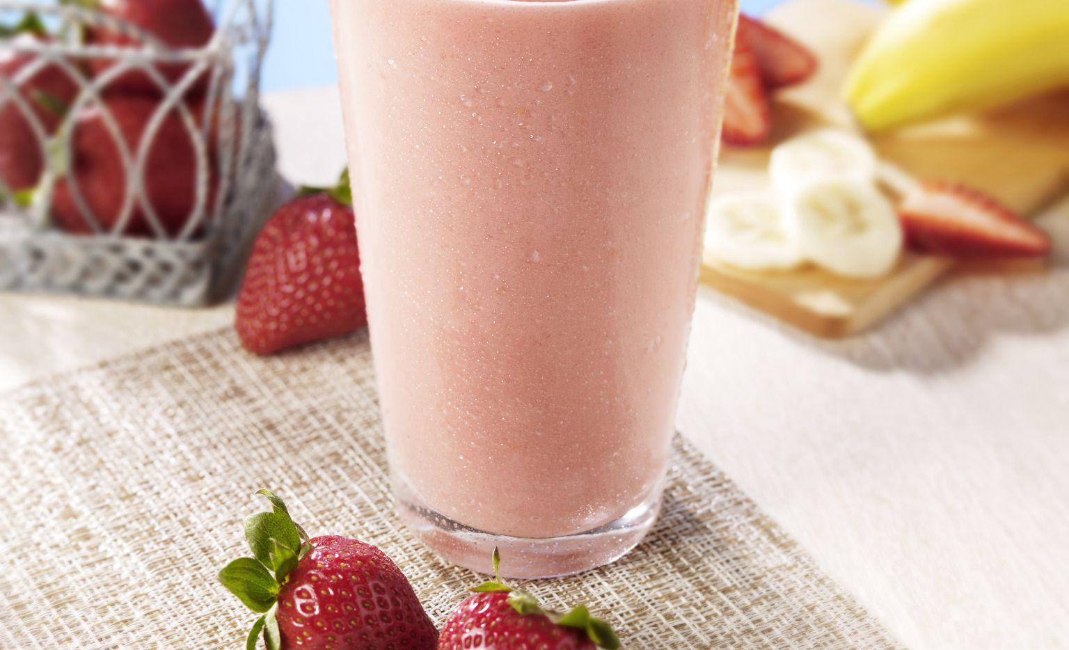 Lemon Twist Strawberry Smoothie