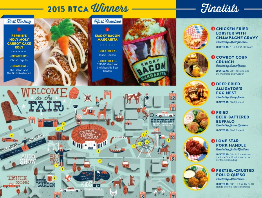 Save this, sleep with it under your pillow, do what you gotta do. It's your guide to fried at the fair.