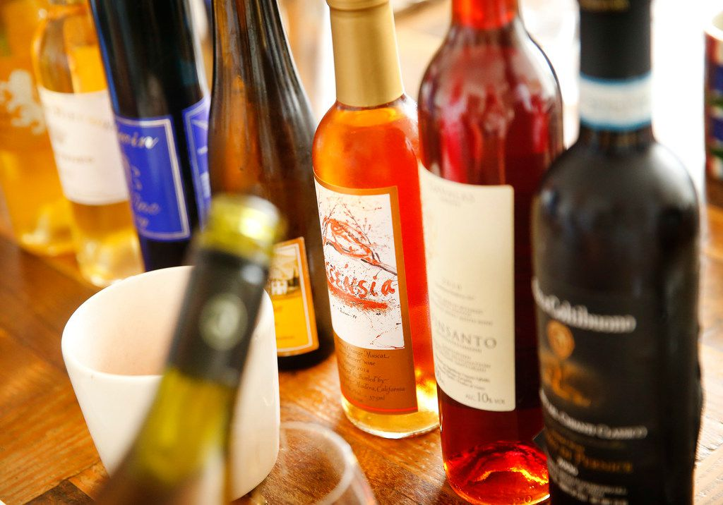 Dessert wines are typically sold in smaller bottles.