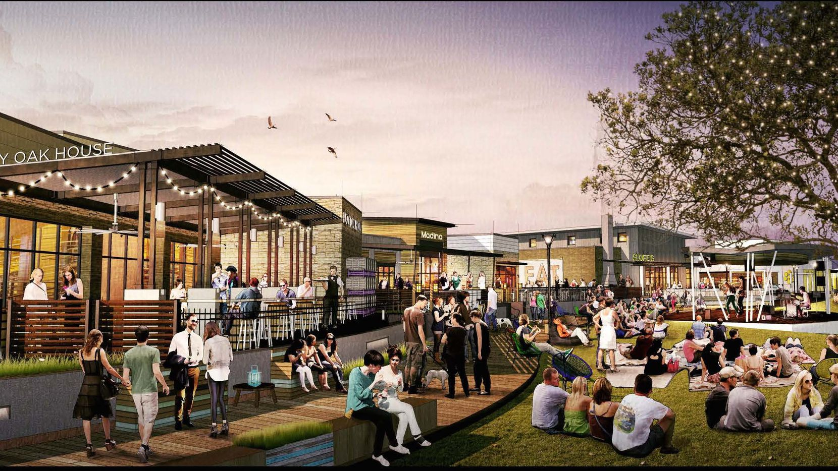 The Shacks will include a half dozen small restaurants in Austin Ranch on Plano Parkway.