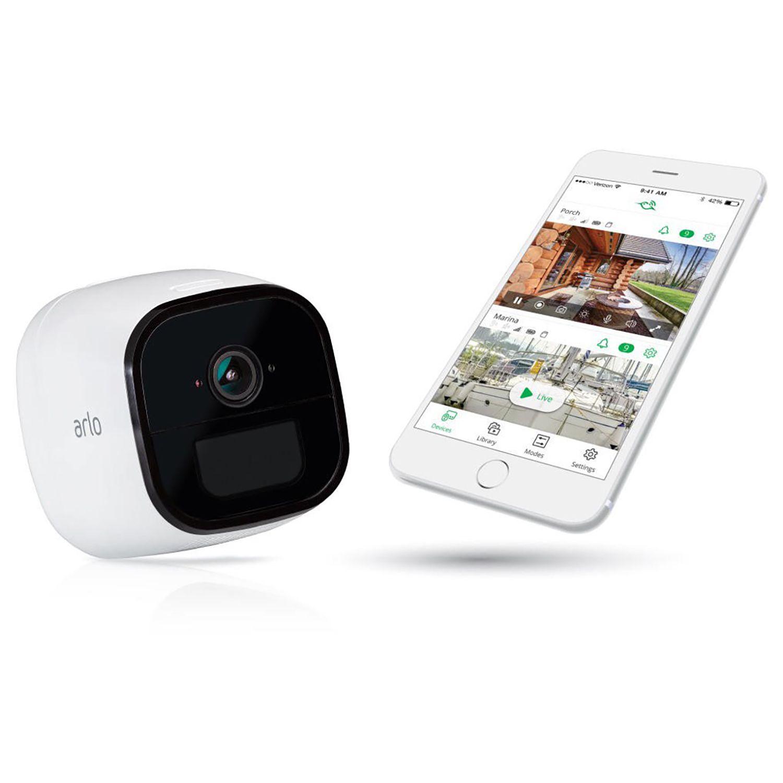 Netgear Arlo Go Wire-Free Camera with the app
