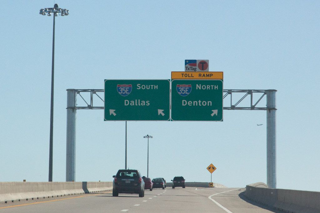 Do non-Texas drivers pay for driving on North Texas toll