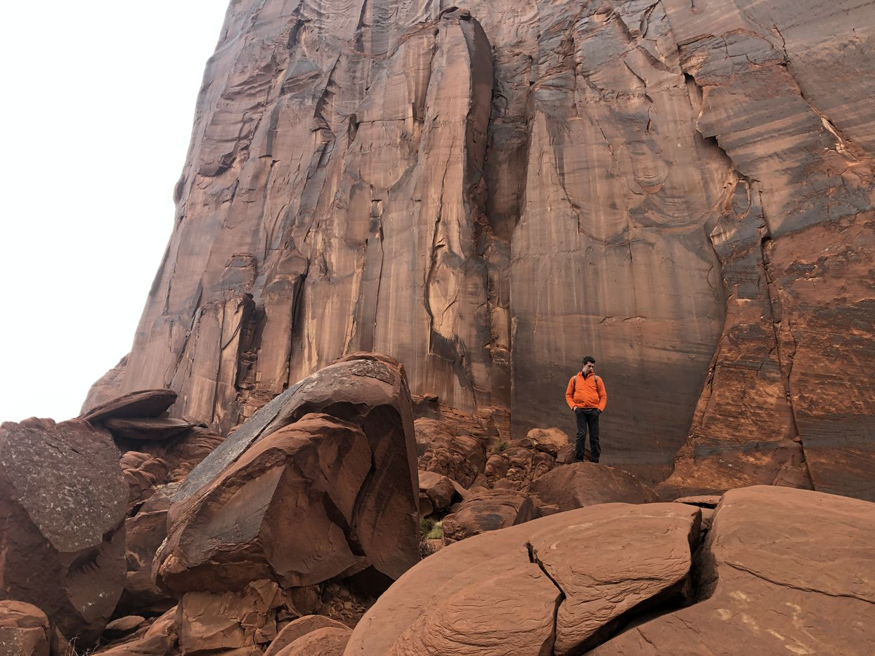 Cooper at Monument Valley