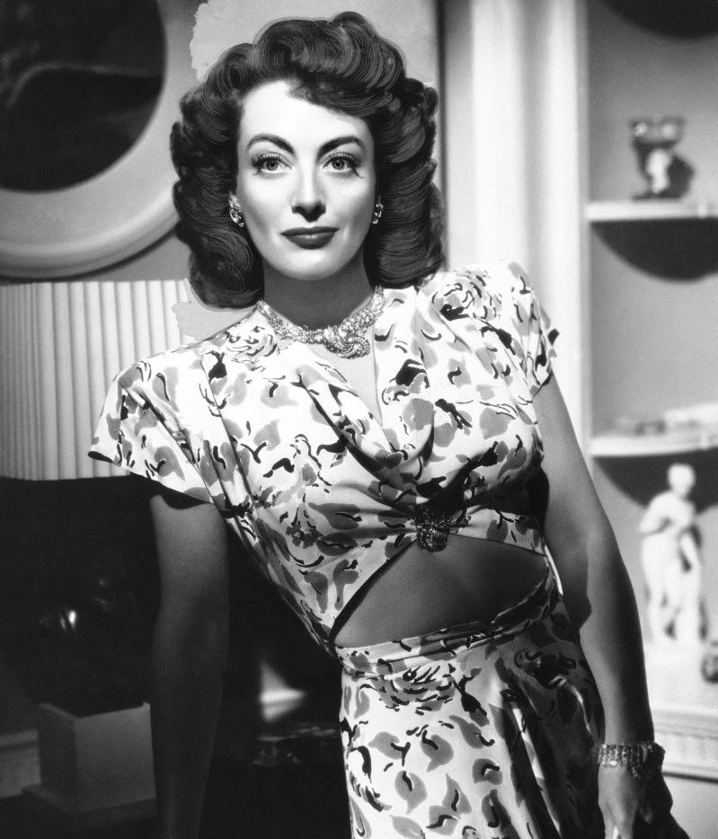 """In this August 10, 1946 file photo, actress, Joan Crawford, is seen as she appeared in """"Mildred Pierce."""" (AP Photo, File)"""