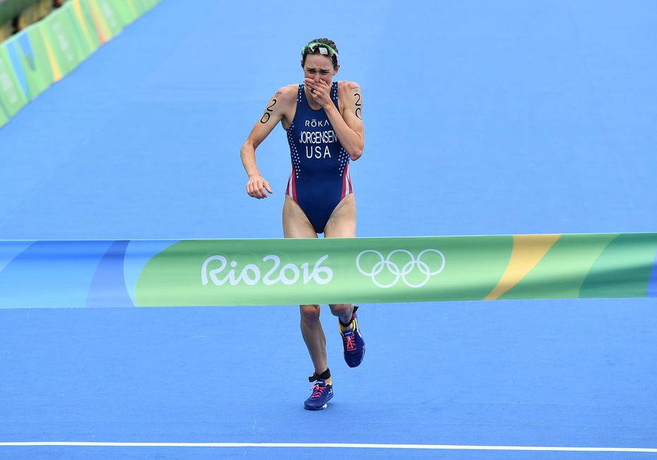 Roka sponsors about 40 athletes, including Gwen Jorgensen, who won the gold medal in the women's triathlon during the Rio 2016 Olympic Games.