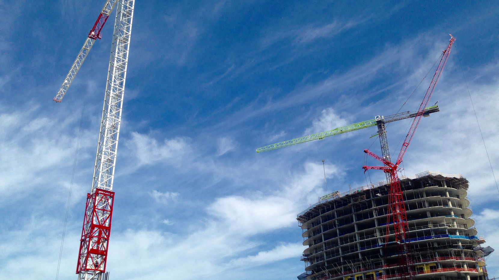 New construction activity is down by more than a third in D-FW this year.
