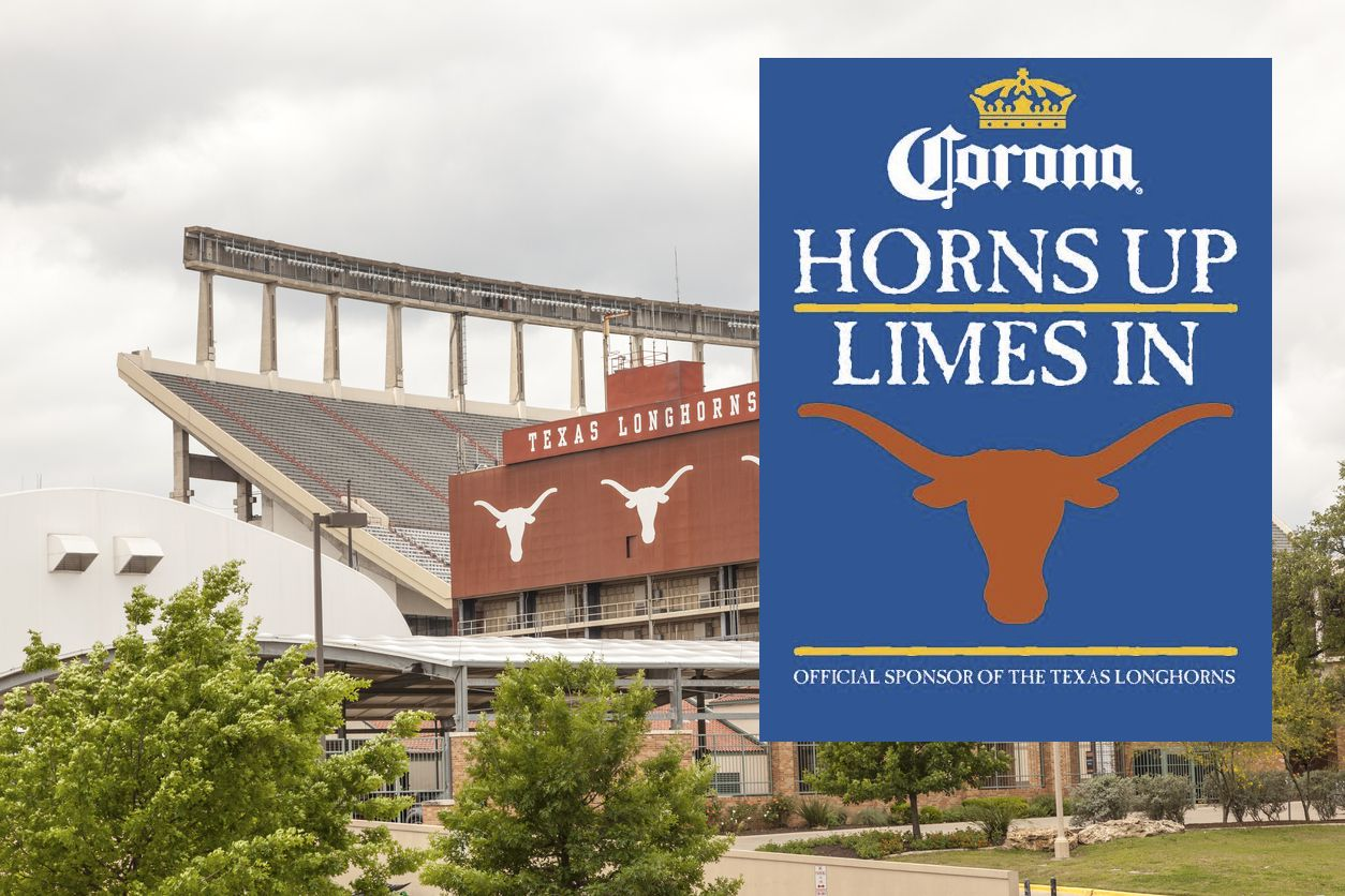 El estadio Darrell K Royal Texas Memorial en Austin.