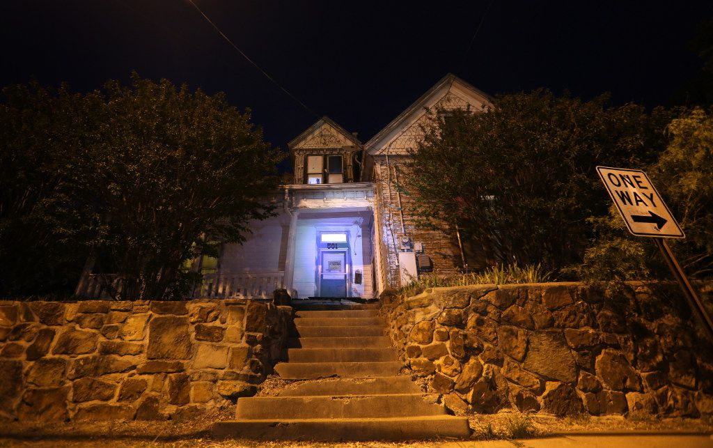 The Haunted Hill House in Mineral Wells, Texas on Friday, May 12, 2017. (Rose Baca/The Dallas Morning News)
