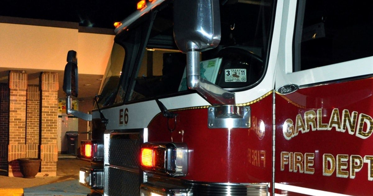Bomberos de Garland evacuaron una casa el jueves debido a una fuga de gas. DMN