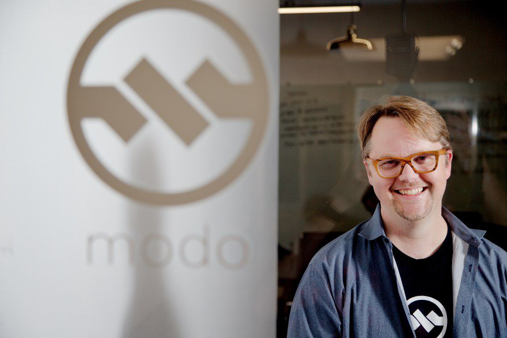 CEO and founder of Richardson-based Modo Payments, Bruce Parker, poses for a photo at the company's offices in Richardson, Thursday, February 23, 2017. (Brandon Wade/Special Contributor)