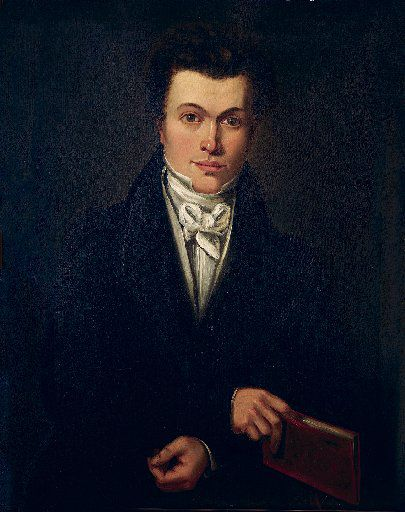 This portrait of Stephen F. Austin, by J. Purwill is dated 1823.