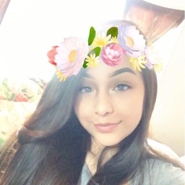 Natalie Hernandez, de 14 años fue asesinada a tiros el lunes 12 de febrero cerca del parque Umphress. Foto tomada de Facebook.