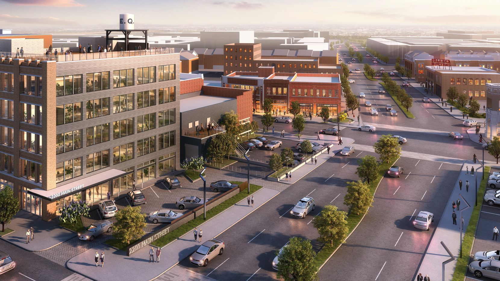 The tech firm Dialexa will be a major new tenant in the East Quarter development in downtown Dallas.
