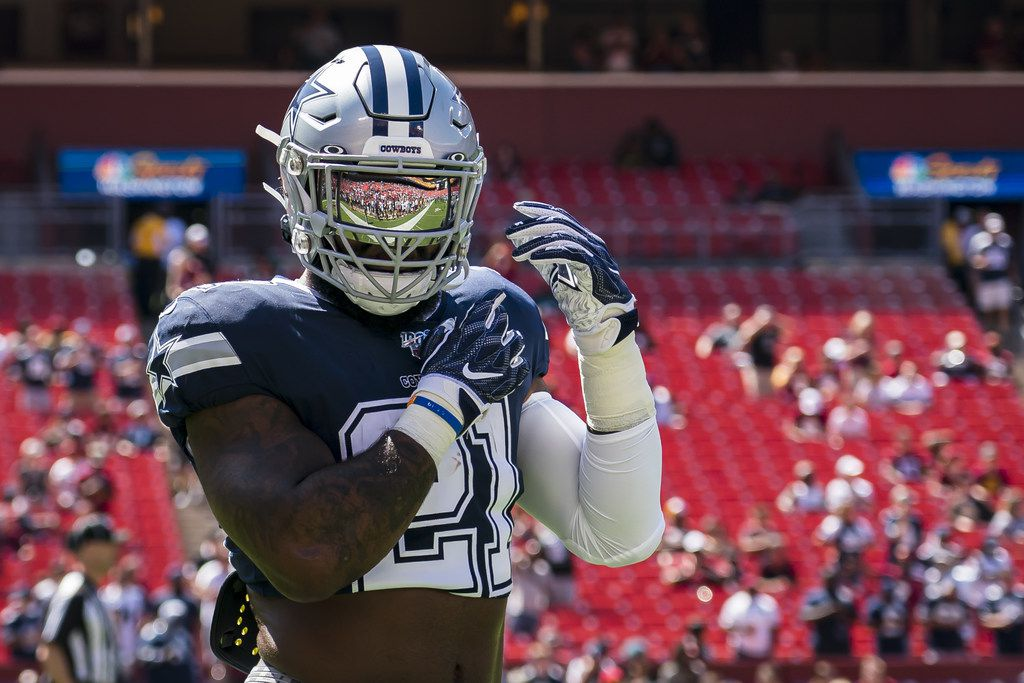 best website 94412 2dfc7 The training wheels are coming off for Cowboys RB Ezekiel ...