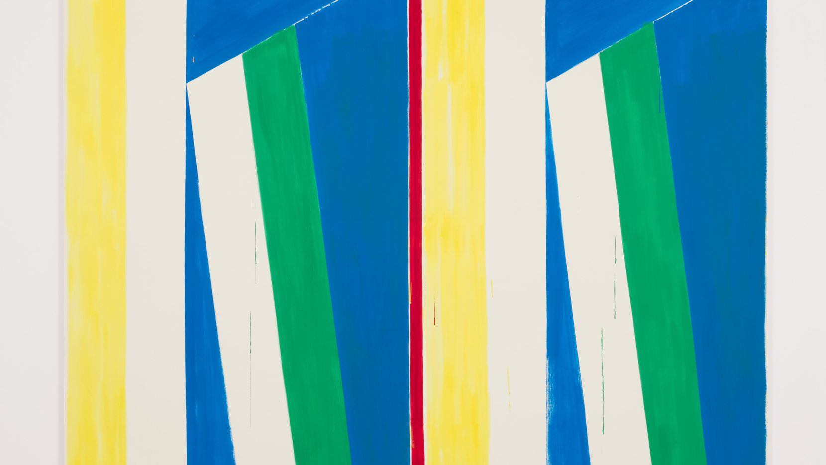 Bernard Piffaretti, Untitled, 2015, acrylic on canvas, 240 x 200 cm.
