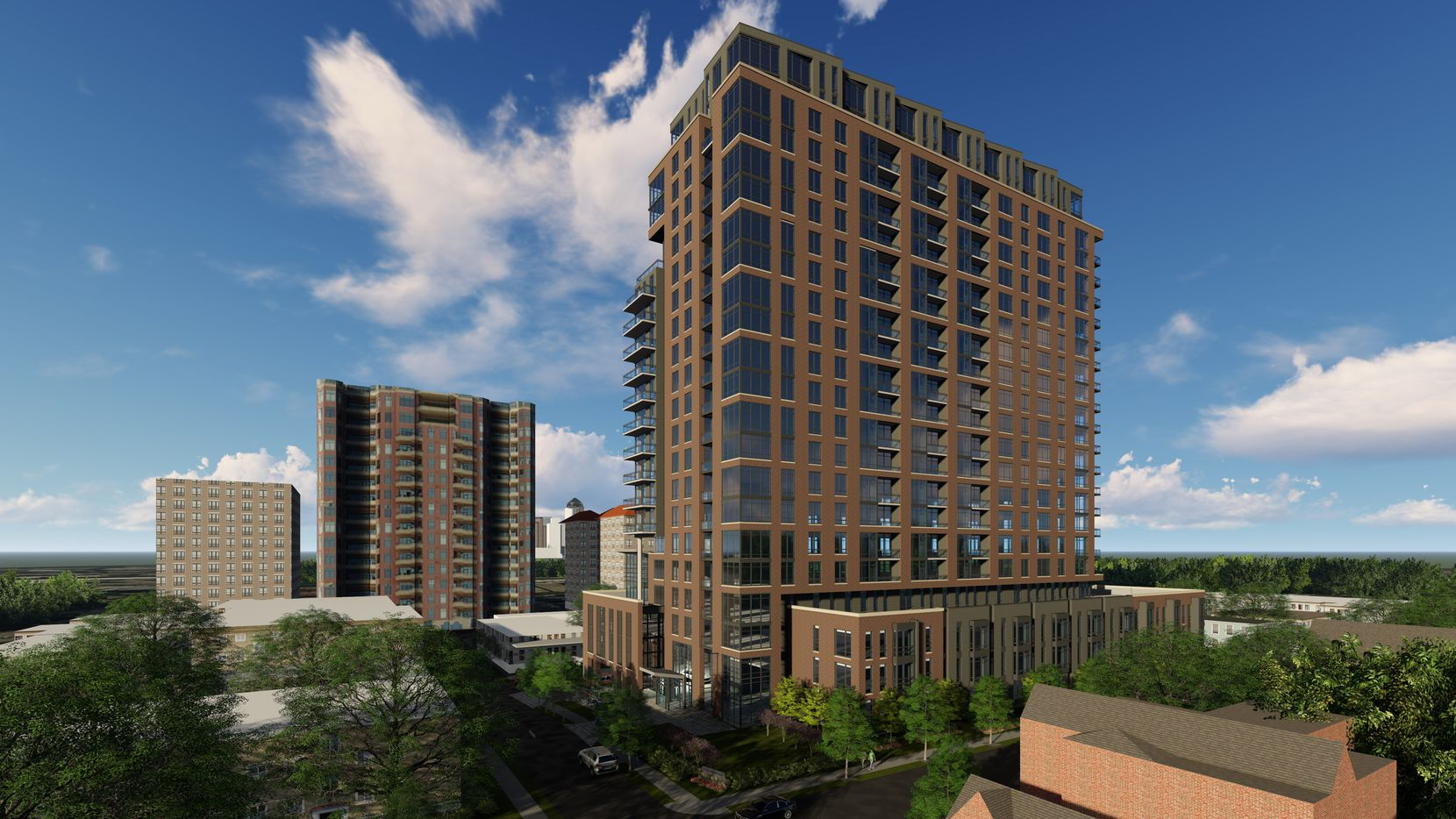 Toll Brothers new Oak Lawn apartment tower will open in 2021.