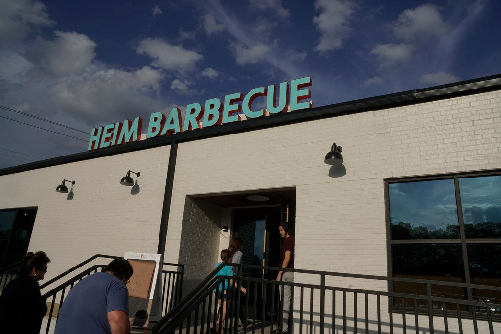 Heim Barbecue tested out some of its new menu items on customers at a closed event on April 5 and 6, 2019.