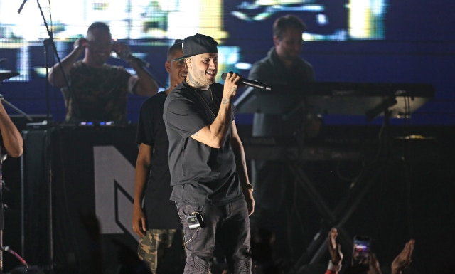 Nick Jam durante su presentación en Far West Dallas/(ESPECIAL PARA AL DÍA/OMAR VEGA)