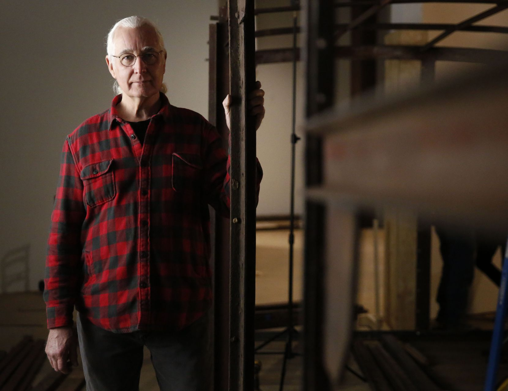 Historic preservationist Ron Siebler has overseen the restoration of the WWII-era boxcar for the past two and a half years.