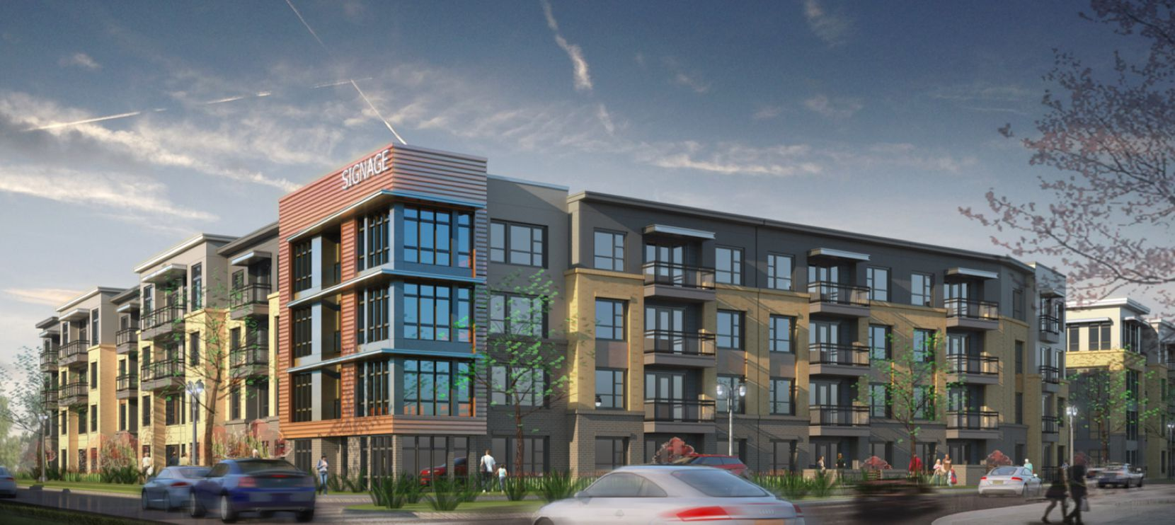 The Allen City Center project would be built at U.S. Highway 75 and Main Street.