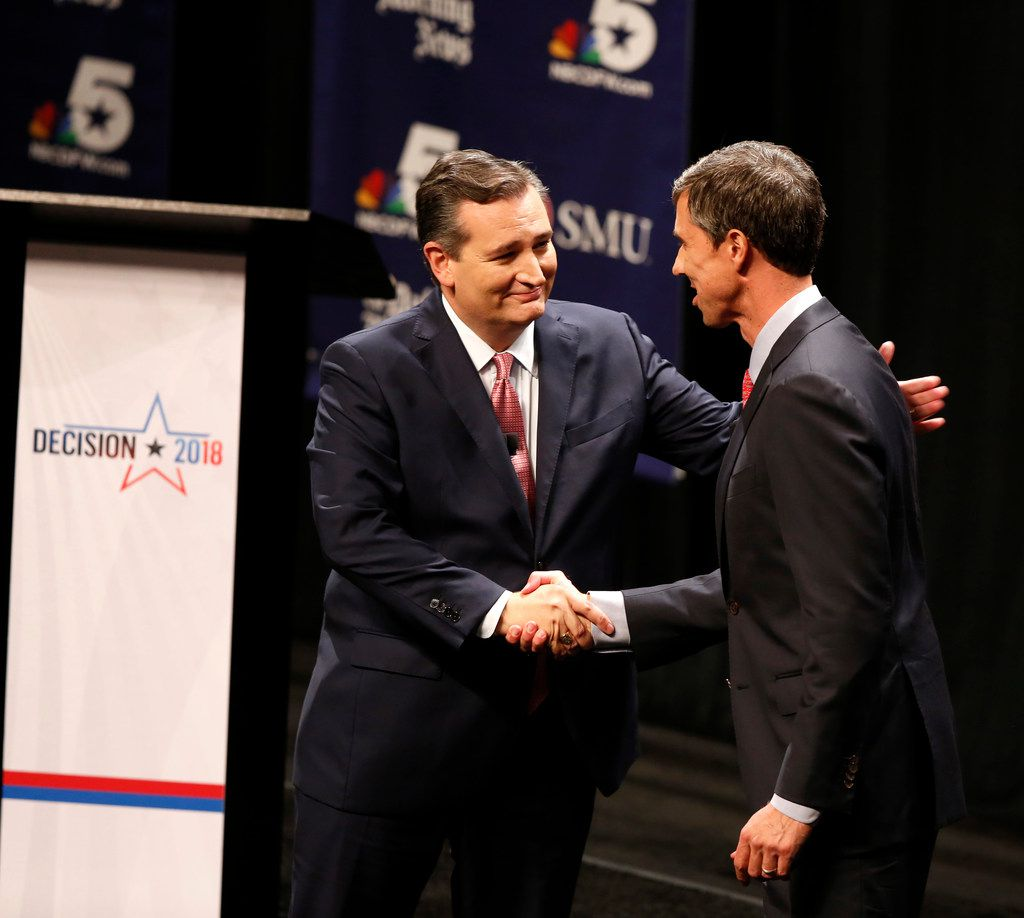 Sen. Ted Cruz and Rep. Beto O'Rourke clashed  in their first debate in Dallas on Sept. 21.