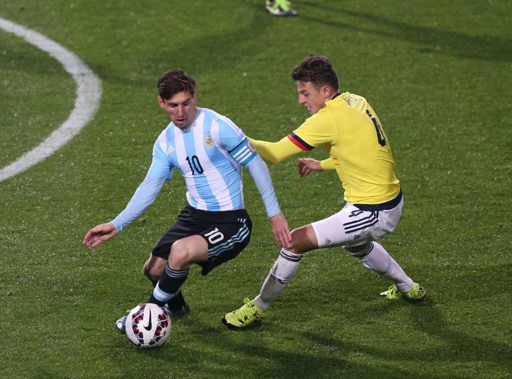 La Copa América 2016 contará con figuras como Lionel Messi (10), capitán de Argentina. / AP