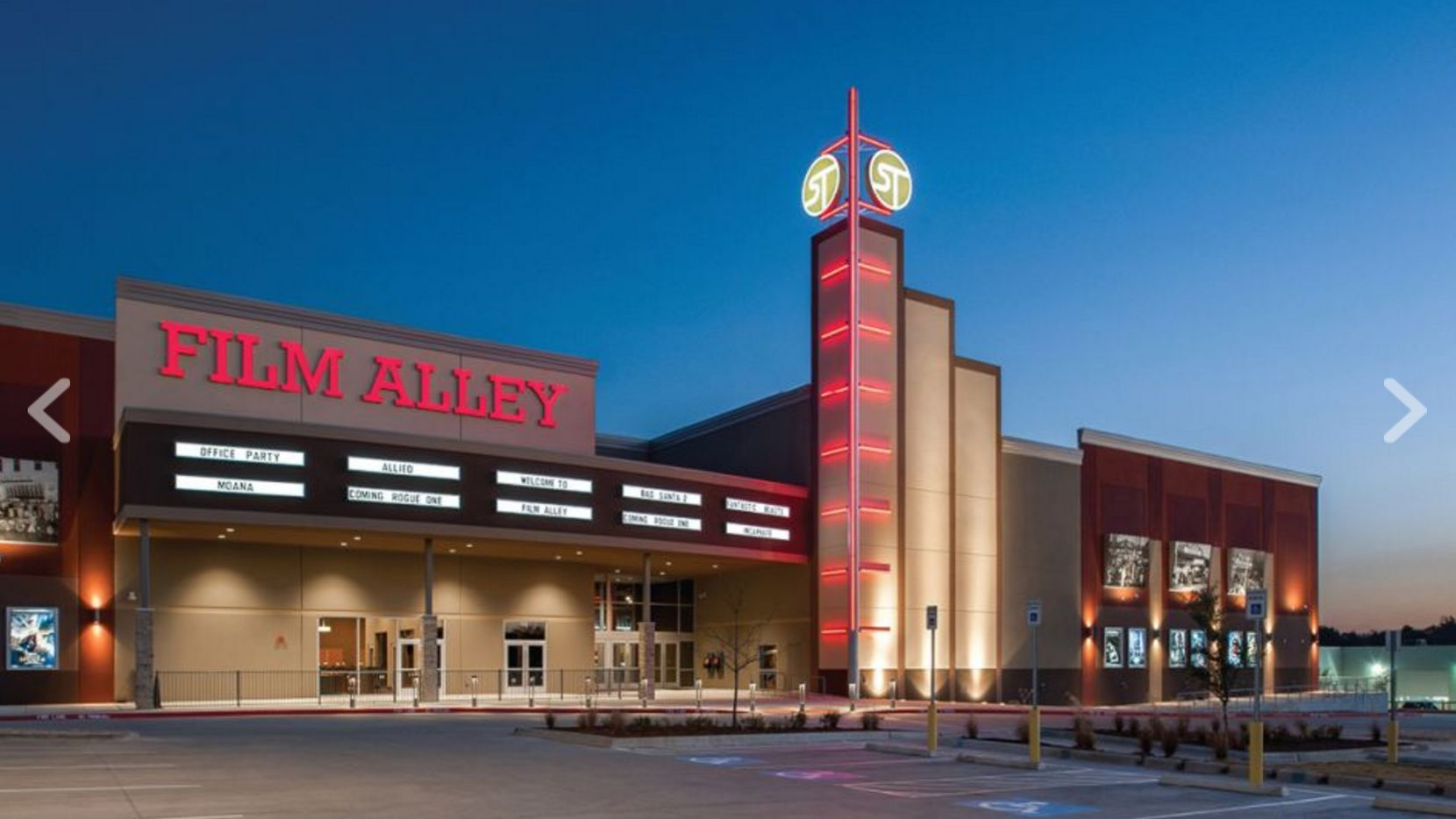 What's coming to Terrell? Film Alley promises dine-in movies