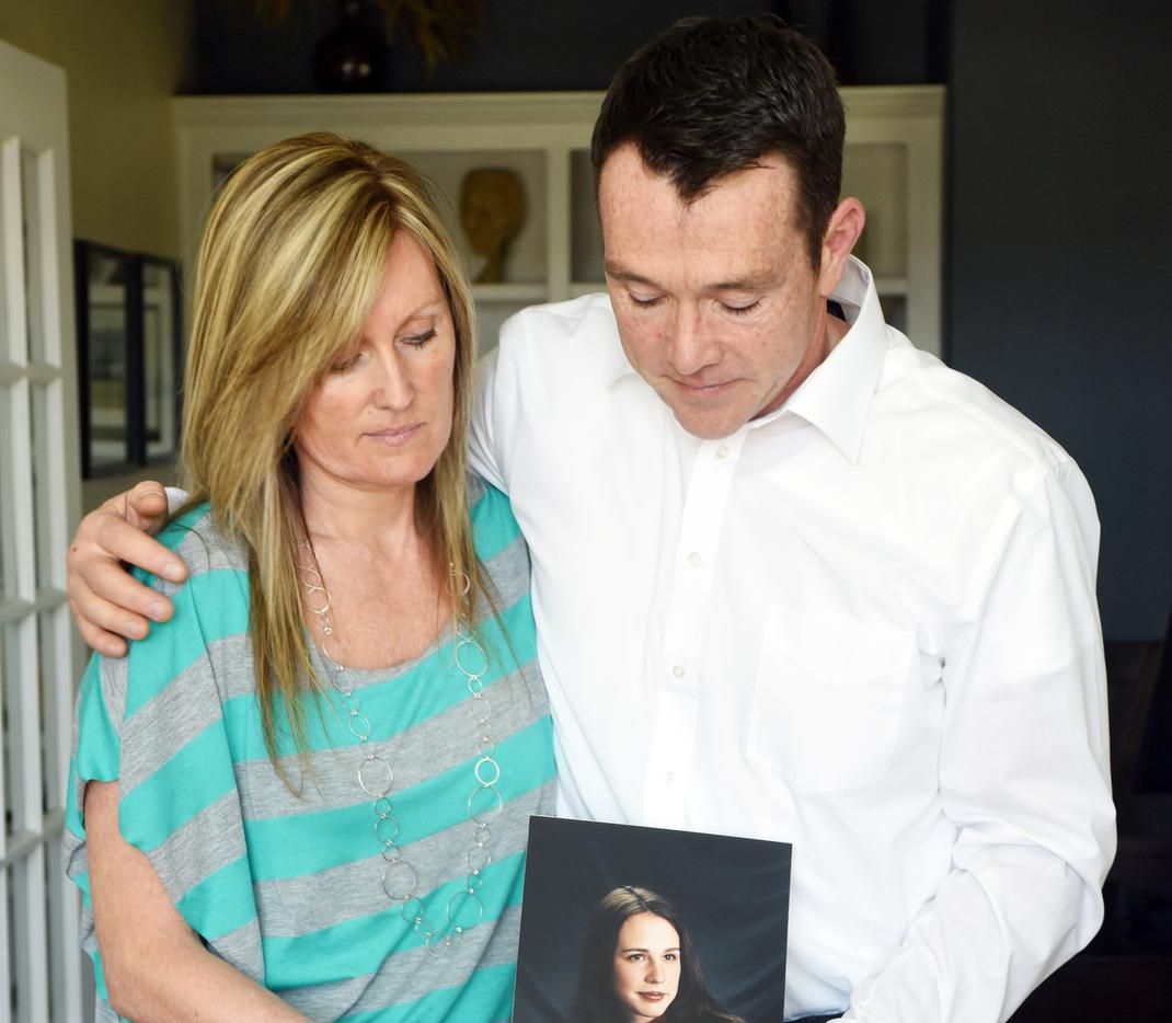 """Collette Riel and Brett Bennetts fault Timberlawn in Dallas for the death of their sister, Brittney Bennetts. """"This is just negligence,"""" Riel says."""