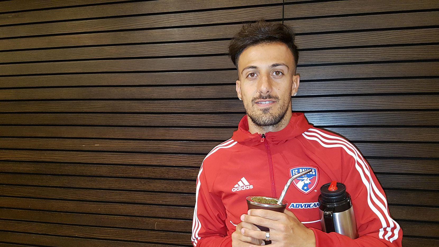 Maximiliano Urruti está enojado con el FC Dallas por no dejarlo irse a San Lorenzo. (EMMANUEL QUISPE/EMMANUEL QUISPE/ESPECIAL PARA AL DÍA)
