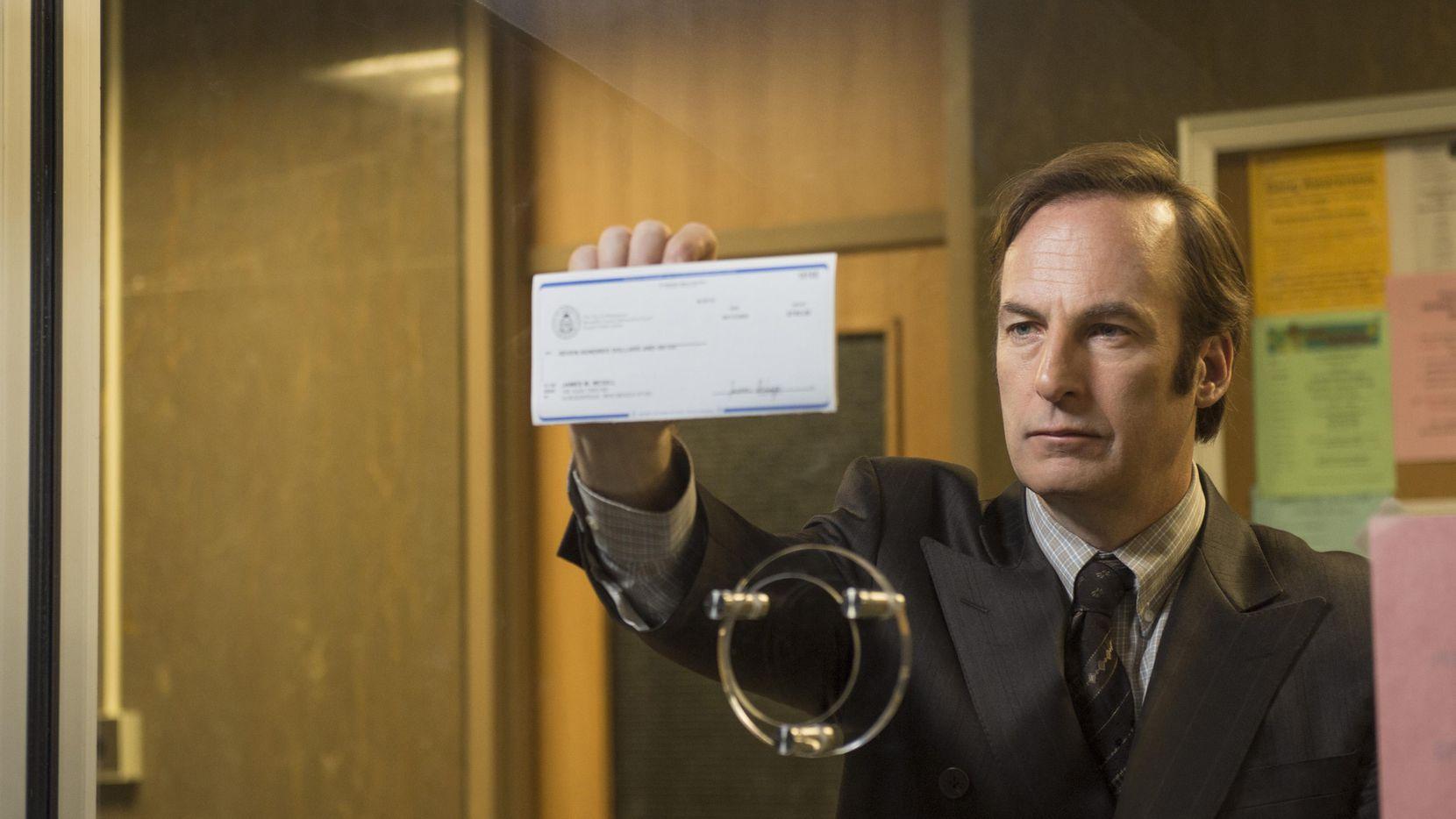 """Bob Odenkirk interpreta a Saul Goodman en """"Better Call Saul"""", que va en busca de su primer Emmy como mejor serie de drama. (AMC/CORTESÍA)"""