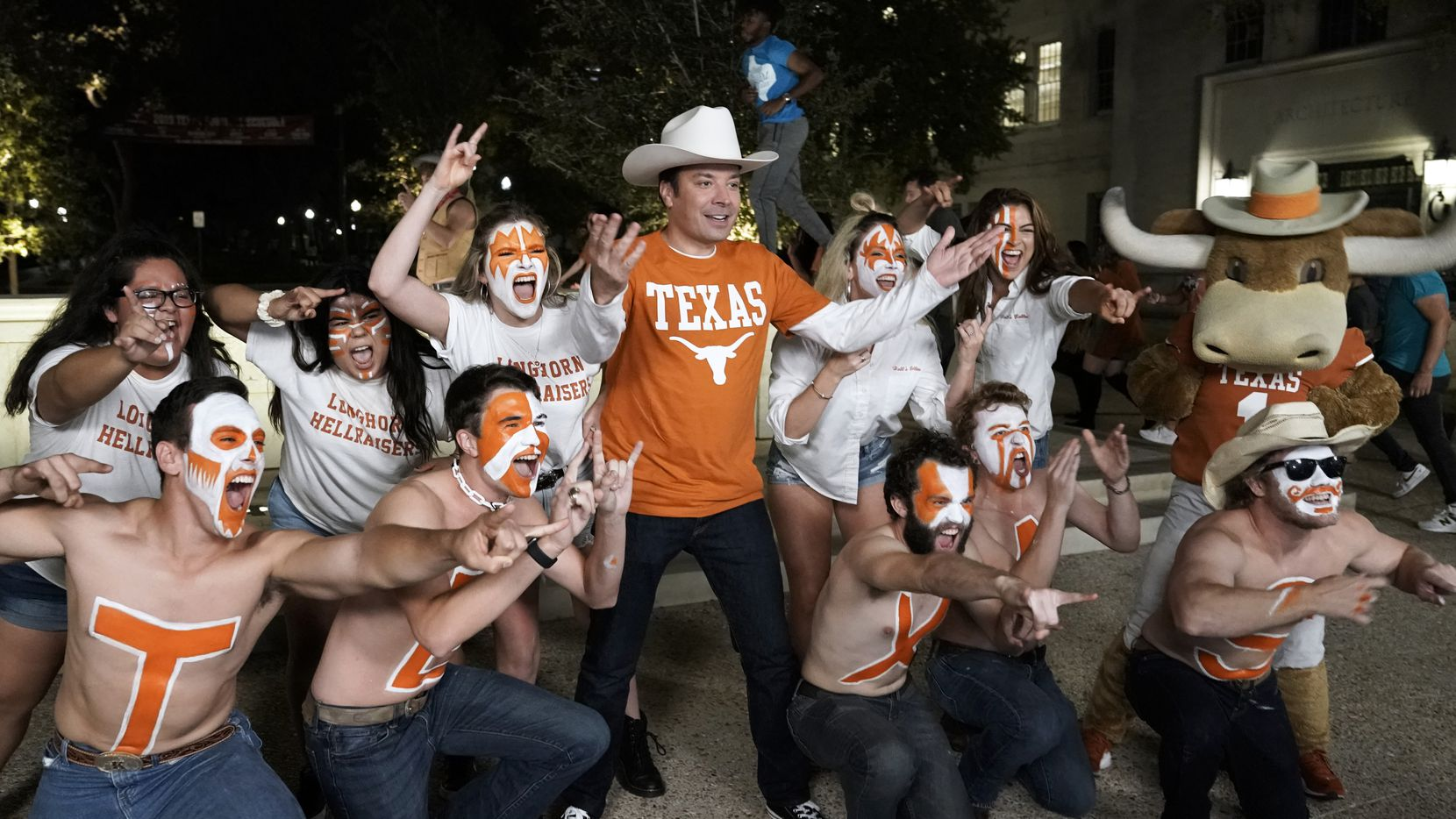 'The Tonight Show Starring Jimmy Fallon' also starred plenty of UT students.