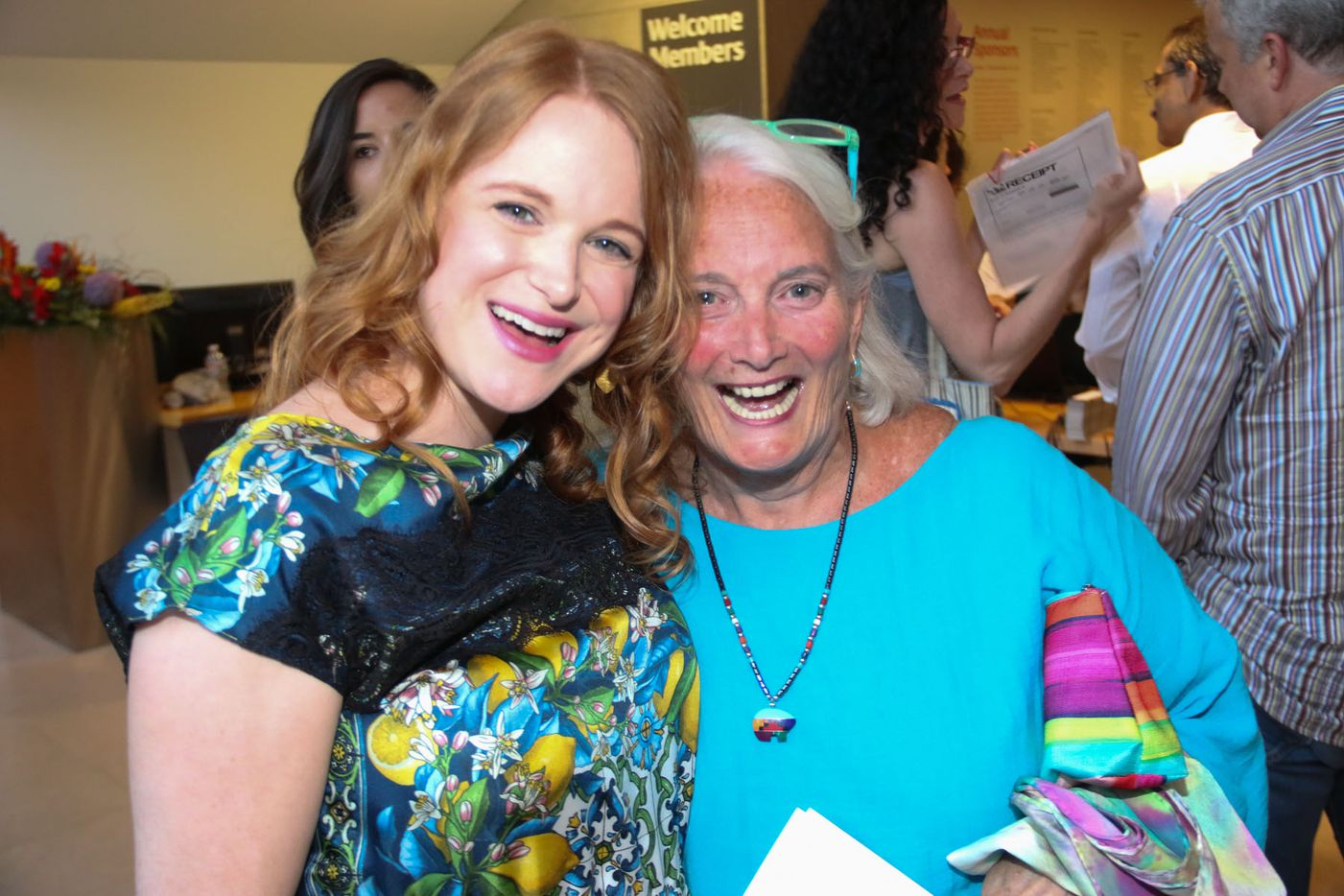 """Nicole Schlesinger and Janie Bush attended Oral Fixation's """"The Best of Season Four"""" at the Dallas Museum of Art on August 15, 2015"""
