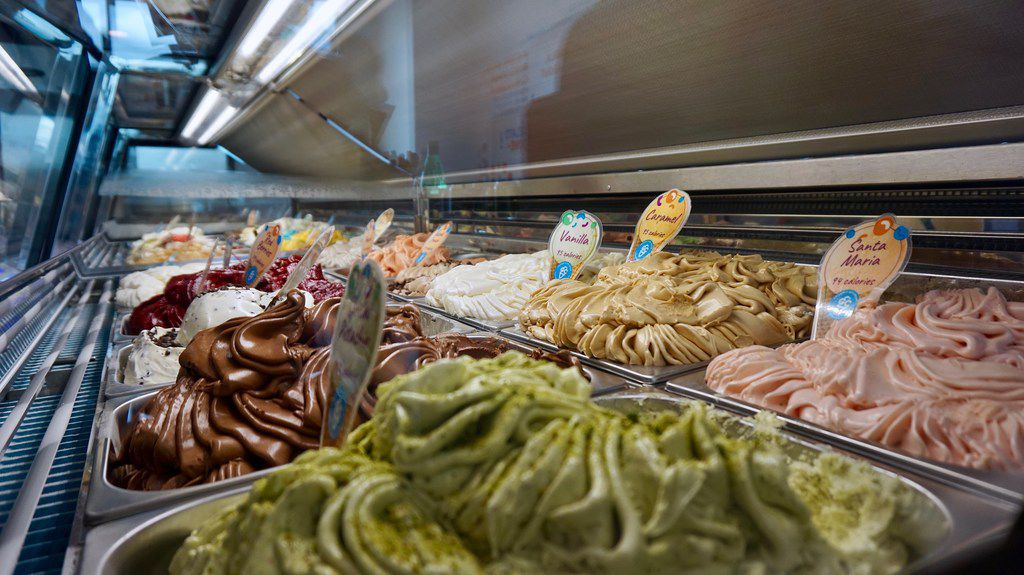 While there are only two dozen flavors available in the store, the chef says he can make up to 50 different kinds.