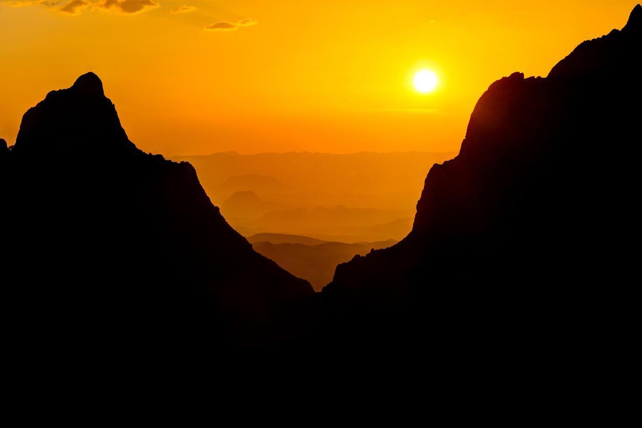 UN amanecer en el Big Bend National Park, al oeste de Texas.(GETTY IMAGES)