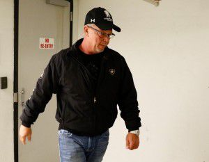 Fred Couch, father of Ethan Couch leaves the Tim Curry Justice Center in Fort Worth on Wednesday, after Judge Wayne Salvant informed Ethan Couch he would likely be kept in jail for almost two years. (David Woo/The Dallas Morning News)