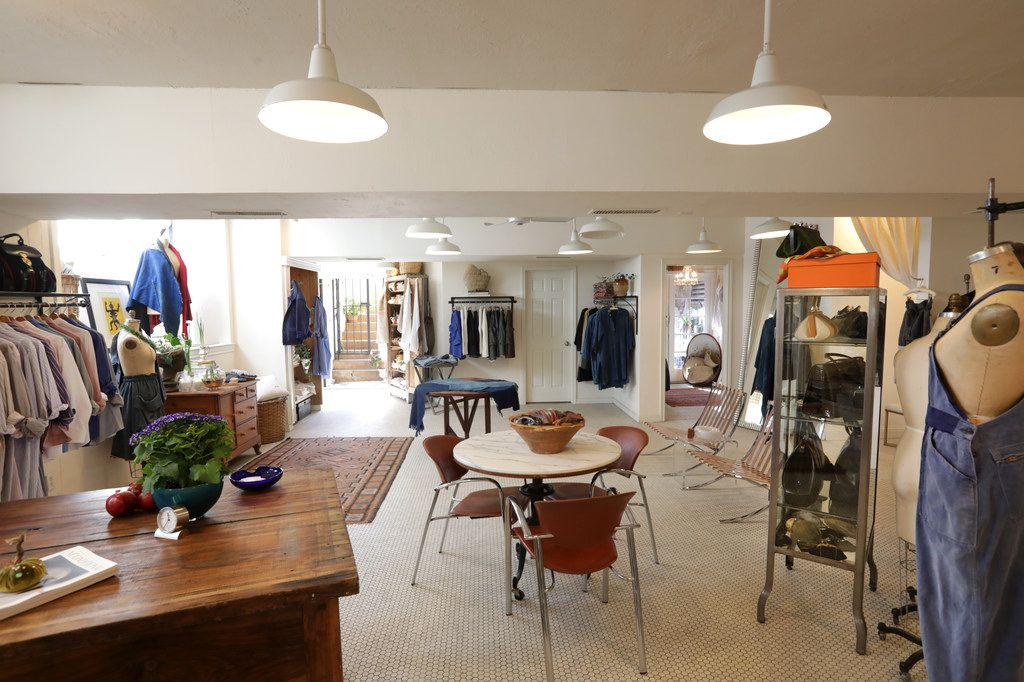 The SoHo McKinney store features garments curated from around the globe.