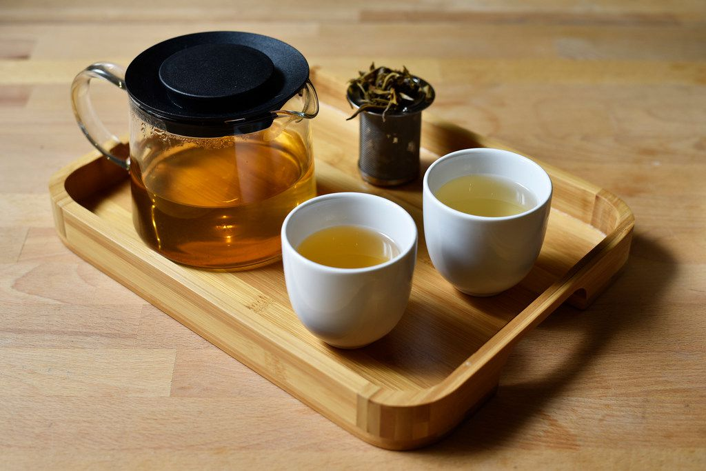 Song Lo Dark (Vietnam), left, and Phou San Mountain Dark (Laos), right, are two new dark teas being sold by Rakkasan Tea Company in Dallas.