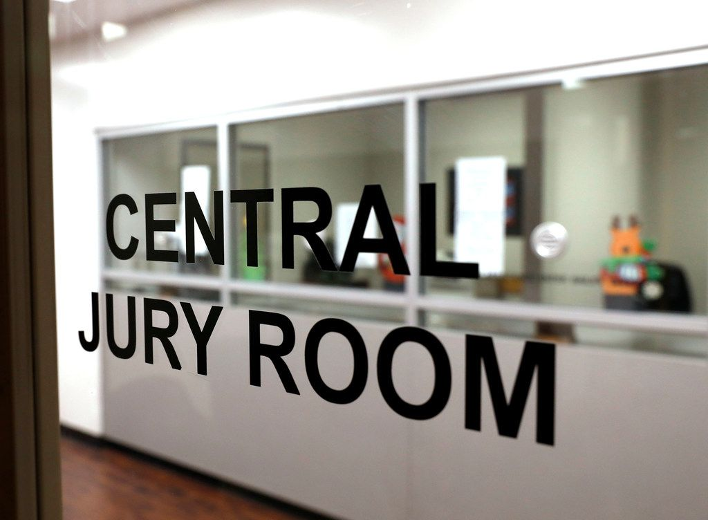 This is the Central Jury Room where residents report when they are summoned for jury duty.