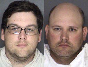 Gavin Satterfield (left) and Billy Getzendaner (Ellis County Jail)
