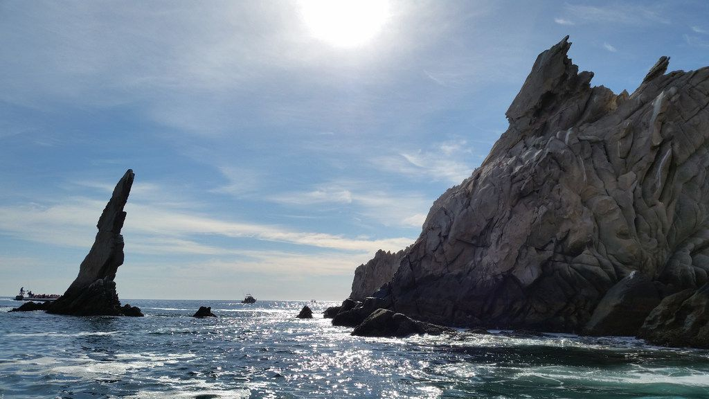 Whales and dolphins are not the only beautiful sights you will see while touring with Cabo Dolphin.