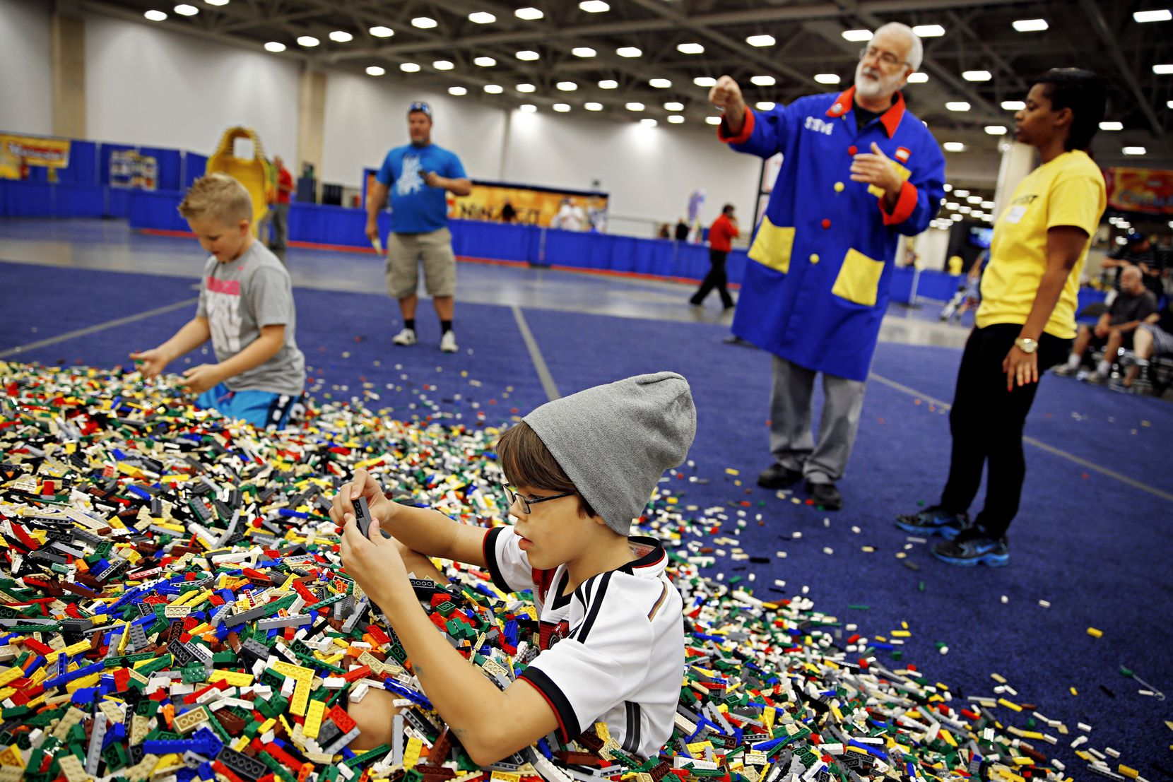 Saturday and Sunday at the Irving Convention Center, kids will be in LEGO heaven.